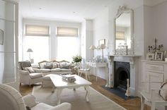 Cómo decorar tu casa con el estilo Shabby Chic - http://www.decoora.com/decorar-casa-estilo-shabby-chic/