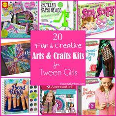 20 Fun Creative Craft Kits For Tween Girls