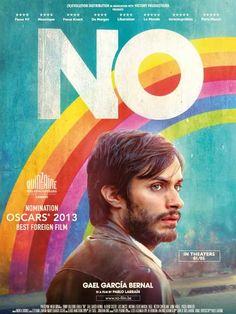 """""""No"""" (Pablo Larraín, 2012) con Gael García Bernal, Alfredo Castro y Luis Gnecco."""