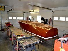 maine home garage boat photo