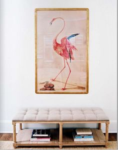 ummmmm flamingo in the house? @apollohay....we may need to rethink our registry now ;-) j/k or am i?!?!