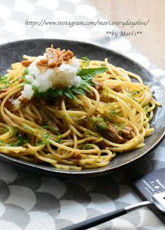 Vegetarian Recipes, Cooking Recipes, Healthy Recipes, Asian Recipes, Ethnic Recipes, Pasta Noodles, Japanese Food, Japanese Recipes, Spaghetti