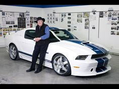 Carroll Shelby, most famous for creating high-performance road and racing cars bearing his name, died Thursday in Dallas, Texas. He was 89 years old.- Carroll Shelby with the 2011 Shelby
