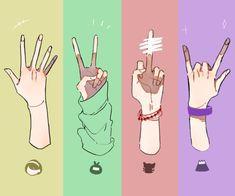 元気なこーすけと天使なラーヒーとげすいキヨとギャ男のフジ…そのまんま過ぎてめっちゃすこや Anatomy Poses, Anatomy Art, Anatomy Drawing, Drawing Techniques, Drawing Tips, Drawing Sketches, Drawings, Hand Reference, Pose Reference