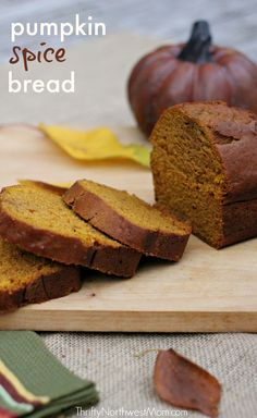 This is seriously some of the best pumpkin bread I've had – so incredibly moist & tasty!!