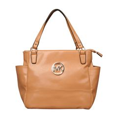 Michael Kors Baby Saffiano Medium Camel Totes only $72.99
