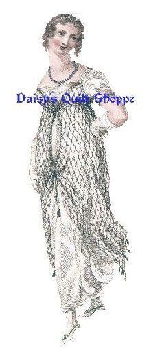 Regency Fashion  #Fabric Block  $5.00