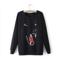 Fitting long sleeved Langtou printing hoodies