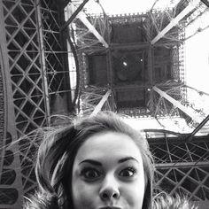 Eiffel Tower selfie #Paris #ParisWHC by hannahbwilson
