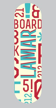 Board Design - Katy Thorn ©