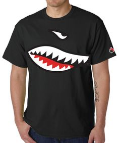 Resultado de imagen de shark t-shirt