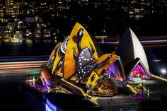 These Photos Of The Sydney Opera House Covered In Aboriginal Designs Will Take Your Breath Away - BuzzFeed News