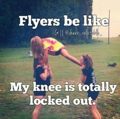 As a cheer coach, this makes me laugh even harder than when I was a cheerleader