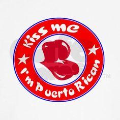 Kiss me I'm Puerto Rican Women's Tank Top on CafePress.com