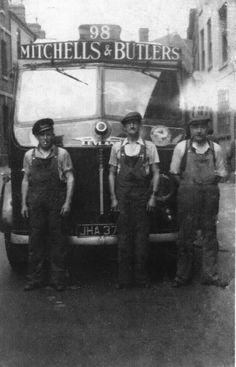 M&B lorry