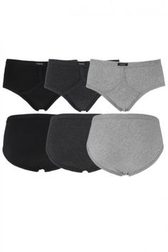 cf29037fed598 Men s Cotton Keyhole Front Plain Briefs (3 Pair)    You can find out