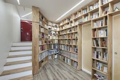 modern #library area