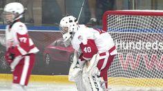 Connor Davis - Goalie - Brick Tournament Game 3 vs BC Canucks Game 3, Football Helmets, Hockey, Brick, Youtube, Field Hockey, Bricks, Youtubers, Youtube Movies