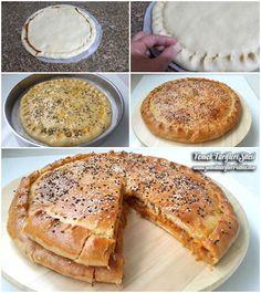 Pırasalı Mayasız Çörek Tarifi