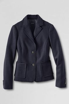 1eaaf095562 Women's Schoolboy Jacket from Lands' End Prep School, School Boy, School  Uniform Girls