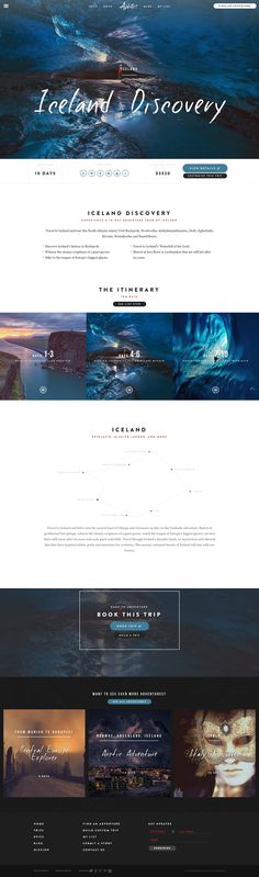 Adventure.com Iceland by Digital Telepathy