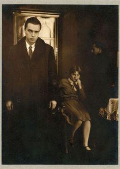 Marianne Breslauer, Interieur, Berlin c.1927 ~ Renowned Jewish German photographer , murdered when the Third Reich came into power