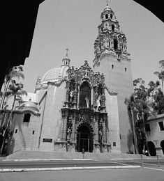 California Tower, Balboa Park (San Diego), designed by Bertram Goodhue in Spanish Colonial Revival style for the Panama–California Exposition.