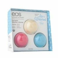 eos Smooth Lip Balm Sphere Holiday Gift 3-Pack, Alice in Wonderland 3 ea