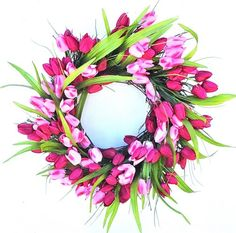 Princess of Happiness Pink Tulip Wreath B&S,http://www.amazon.com/dp/B00JRALCHY/ref=cm_sw_r_pi_dp_qLvztb1JKS60AAEF