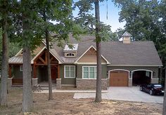 a little small Plan W17650LV: Cottage, Craftsman, Sloping Lot, Photo Gallery House Plans & Home Designs