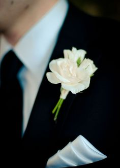 Groom's Boutonniere Option 4