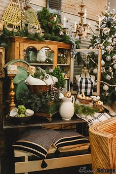 Comfort and Joy Sweet Salvage Comfort And Joy, Christmas Ideas, Table Decorations, Sweet, Furniture, Home Decor, Candy, Decoration Home, Room Decor