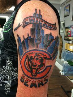 Da Bears Chicago Bears tattoo by Deso