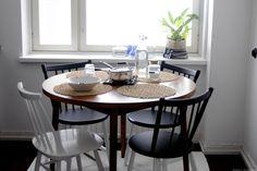 keittiö,pinnatuolit,ruokapöytä