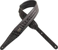 Levys  MSS100CRXLBLK 2 Artificial Crocodile GuitarBass Strap  XL  Black >>> You can get more details by clicking on the image.Note:It is affiliate link to Amazon.