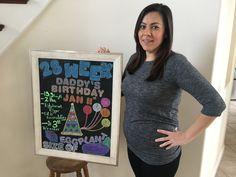 Chalkboard Pregnancy, T Shirts For Women, Birthday, Tops, Fashion, Moda, Birthdays, Fashion Styles, Fashion Illustrations