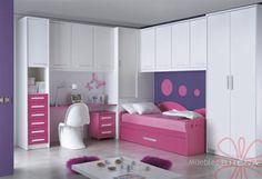 Muebles dormitorio doble ni as decoracion cuarto ninas for Cuartos para ninas tumblr