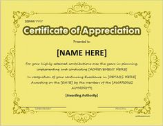 Certificate of appreciation for ms word download at http certificate of appreciation templates pdf word get calendar certificate of appreciation for ms yelopaper Images