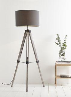 Harley Tripod Floor Lamp - floor lamps - Home, Lighting & Furniture - BHS
