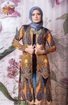 orange kimono cardigan, Long kimono hijab by Emy fashion http://www.justtrendygirls.com/long-kimono-hijab-by-emy-fashion/