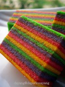 Assalamualaikum dan salam sejahtera semua...... Wahh2! Lagi2 kek lapis ye....hehe. Sebenarnya kek ni dayang buat tahun lepas lagi. Dah...