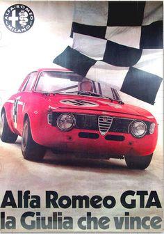 Alfa Romeo GTA the Giulia that wins.