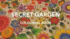 secret garden color book - YouTube