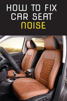 Many people complain about car seat noise, especially squeaky sounds when driving on a bumpy road. There could be many causes for the squeakiness. I've addressed the most common ones in this article and how to fix them in no time. Car Sounds, Sound Proofing, Car Seats, Advice, Cleaning, People, Tips, Home Cleaning, People Illustration