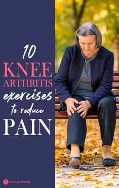 daily exercise Knee arthritis is excruciatingly painful Millions of Americans are affected by three types of knee arthritis osteoarthritis, rheumatoid arthritis, and gout To reduce knee pain and restore knee function, Knee Arthritis Exercises, Knee Strengthening Exercises, Stretches, Pool Exercises, Workouts, Chair Exercises, Workout Videos, How To Strengthen Knees, Nba