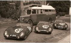 On road toLemans 1956