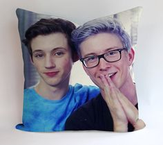 Troye Sivan And Tyler Oakley Pillow Cases Covers Design Home Decoration