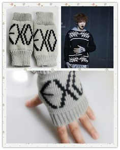 ChanYeol and Kris EXO gloves!!!!!