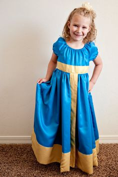 Merida Princess Dress by princessandapea on Etsy, $65.00