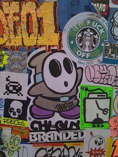 Street - Stickers in Paris | Flickr - Photo Sharing!